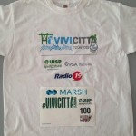 La t-shirt di Radio19Run 2015
