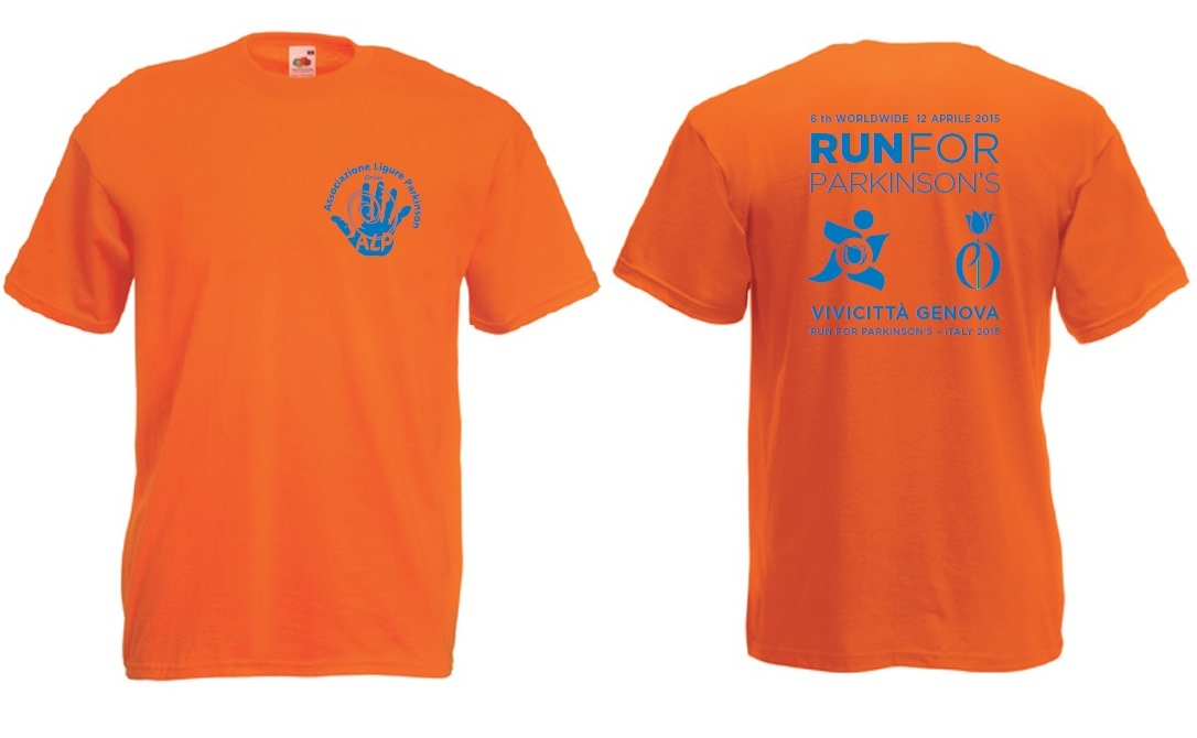 Run for Parkinson s t-shirt